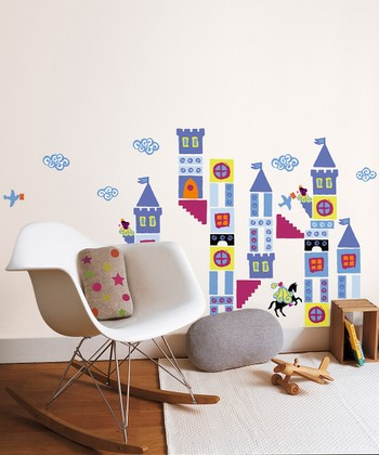 Castle Wall Decal Set