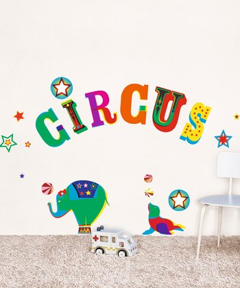 'Circus' Wall Decal Set