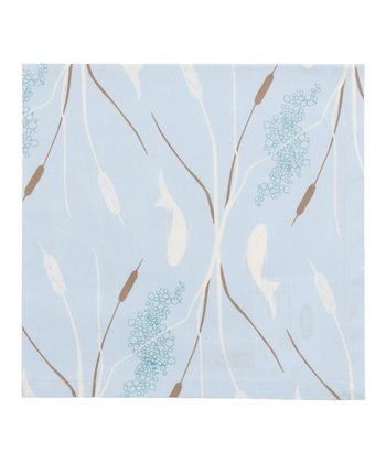 Blue Cattail Napkin - Set of Four