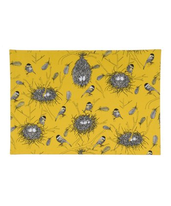 Yellow Bird's Nest Place Mat - Set of Four