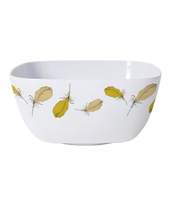 Feather Serving Bowl