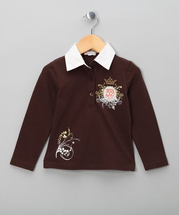 Brown Polo Shirt - Toddler & Boys