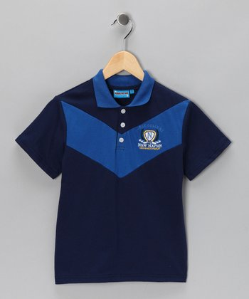 Blue 'New Haven' Polo - Toddler & Boys