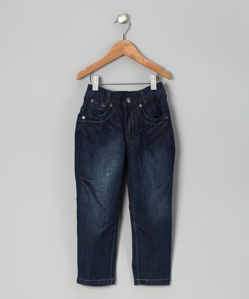 Medium Wash Jeans - Toddler & Boys
