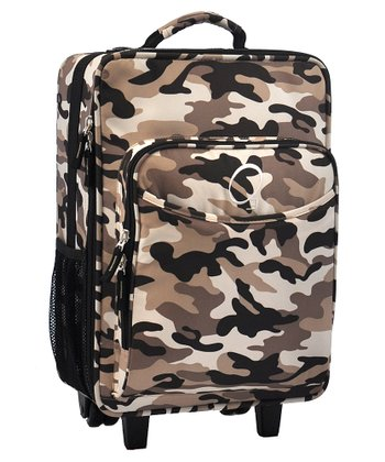 Camo All-in-One Rolling Suitcase
