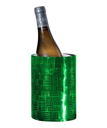 Green Mosaic Double-Walled Wine Cooler