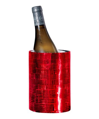 Red Mosaic Double-Walled Wine Cooler