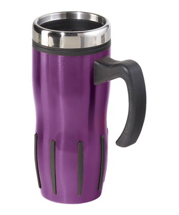 Purple Lustre 16-Oz. Travel Mug