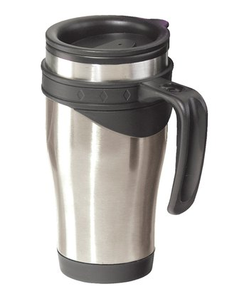 Silver Lustre 14-Oz. Travel Mug