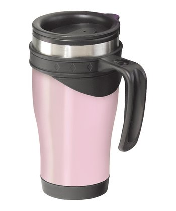 Pink Lustre 14-Oz. Travel Mug