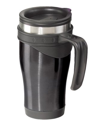 Black Lustre 14-Oz. Travel Mug