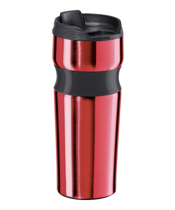 Red Lustre Contour 16-Oz. Travel Mug