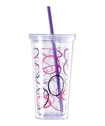 Purple Sphere 20-Oz. Tumbler