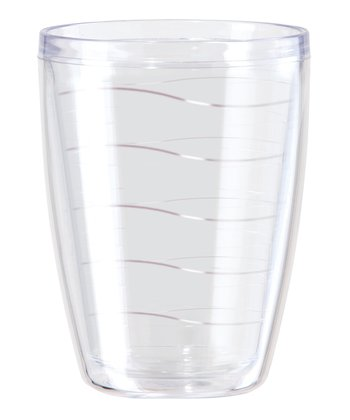 Clear Double Wave 16-Oz. Tumbler