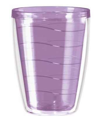 Purple Double Wave 16-Oz. Tumbler