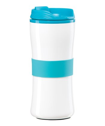 Aqua 16-Oz. Travel Mug