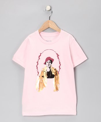 Light Pink Eleanor Roosevelt Tee - Toddler & Girls
