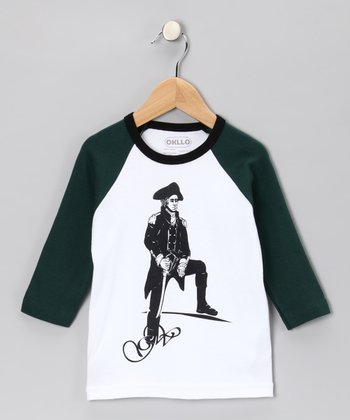 Forest George Washington Raglan Tee - Infant, Toddler & Boys