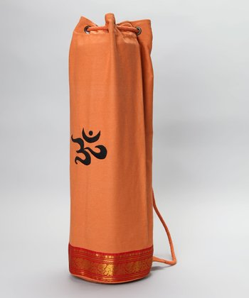 Orange Mahayogi Mat Bag