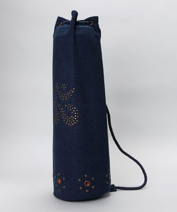 Navy Blue Denim Mahashakti Mat Bag