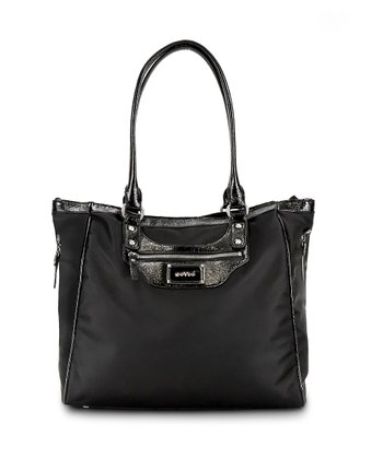 Black Noir Betsy Tall Diaper Bag