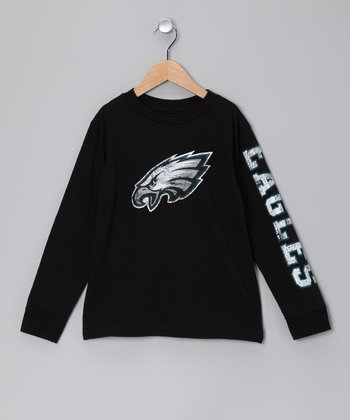 Philadelphia Eagles Long-Sleeve Tee - Kids