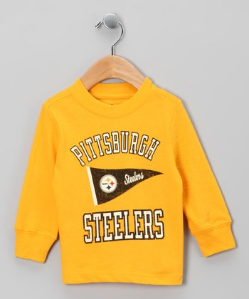 Pittsburgh Steelers Pennant Tee - Infant