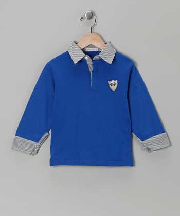 Royal Blue Polo - Toddler & Boys