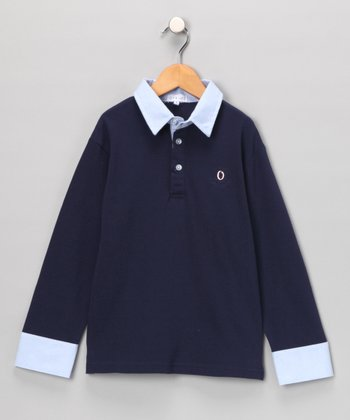 Navy Polo - Toddler & Boys