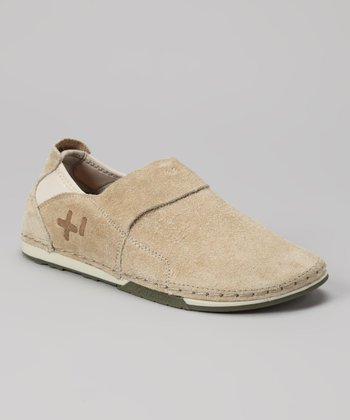 Sand Shaggy Slip-On Shoe