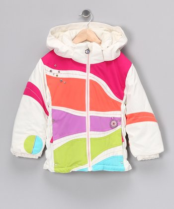 Marshmallow Kismet Jacket - Toddler