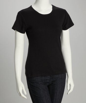 Licorice Urban Organic Short-Sleeve Tee - Women