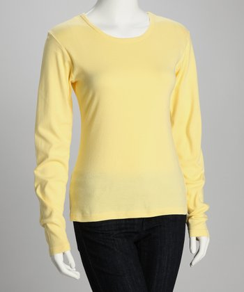 Lemon Urban Organic Long-Sleeve Tee - Women