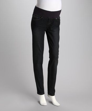 Rinse Under-Belly Maternity Skinny Jeans