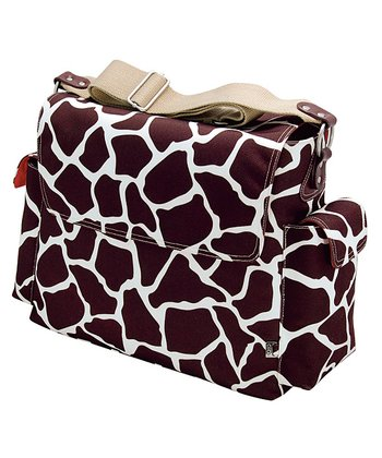 Cocoa Giraffe Messenger Diaper Bag