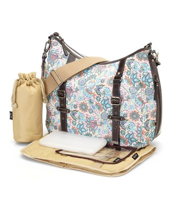 Indian Paisley Hobo Diaper Bag