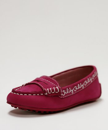 Fuchsia Chrissy Loafer