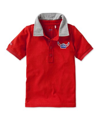 Red Tigo Polo - Toddler & Boys