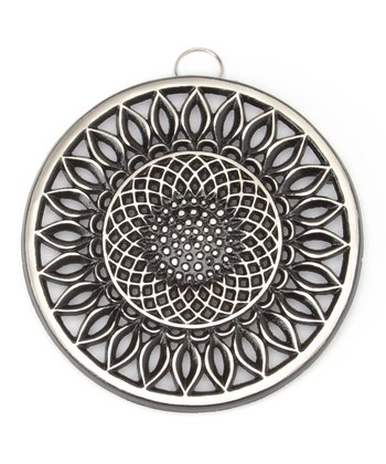Nickel Sunflower Trivet
