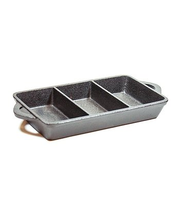 Cast Iron Triple-Serve Rectangle Dish
