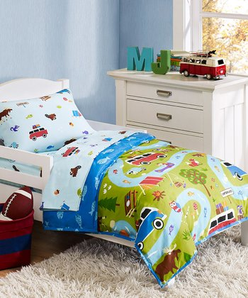 Olive Kids Camping Trip Toddler Bedding Set