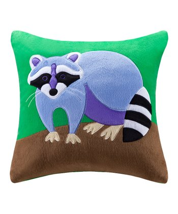 Olive Kids Camping Trip Appliqué Throw Pillow