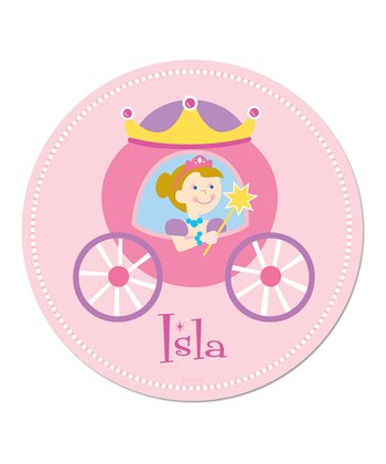 Blonde Princess Personalized WallDotz Decal