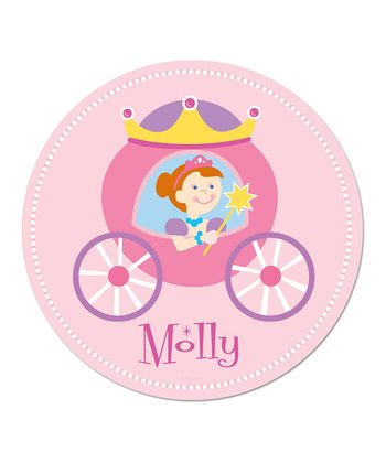 Red-Haired Princess Personalized WallDotz Decal