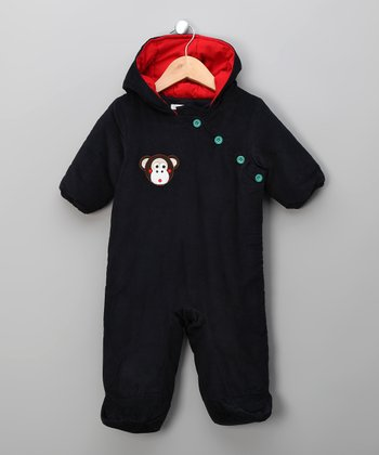 Navy Michael the Monkey Bunting - Infant