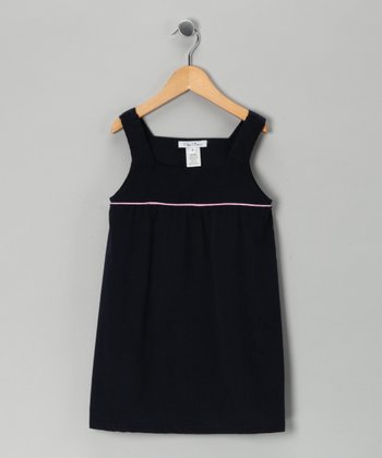 Navy Corduroy Jumper - Infant & Girls