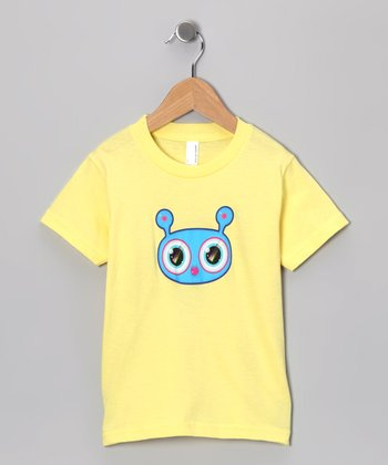 Olly Oogleberry Lemon Faceman Tee - Boys