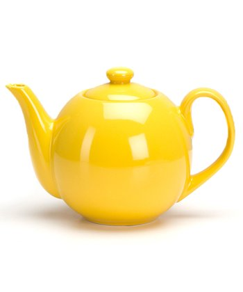 Yellow 40-Oz. Infuser Teapot