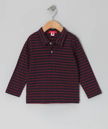 Ink & Brick Stripe Polo - Toddler & Boys