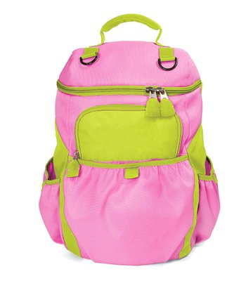 One Step Ahead Pink My Frist Backpack